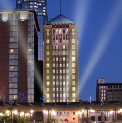 The Aladdin Holiday Inn Hotel: $135